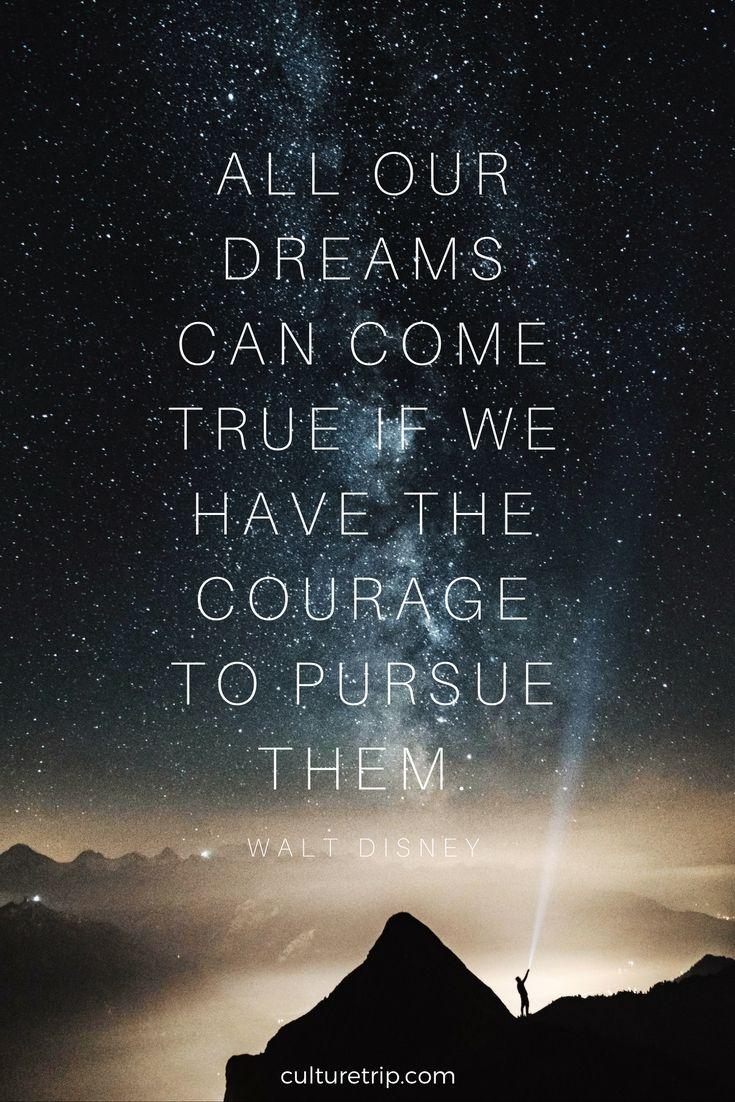 Walt Disney's 10 Most Inspiring Quotes   TRAVEL QUOTES ...