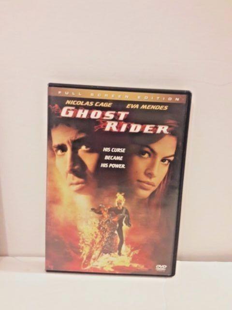 Ghost Rider Full Screen Edition Nicolas Cage Eva Mendes 2007 #CAGENICOLAS