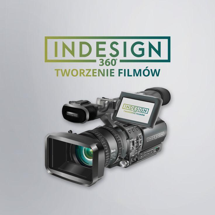 InDesign 360 tworzenie filmów. Tworzymy intra do filmów, spoty reklamowe, prezentacje filmowe, nagrywamy wywiady lub montujemy film z gotowych materiałów.