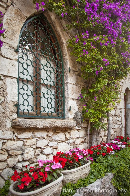 Home in Eze, Provence, France. © Brian Jannsen Photography