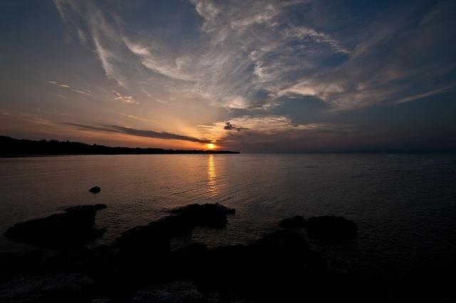 Sunset in #Paliouri #Halkidiki #Greece
