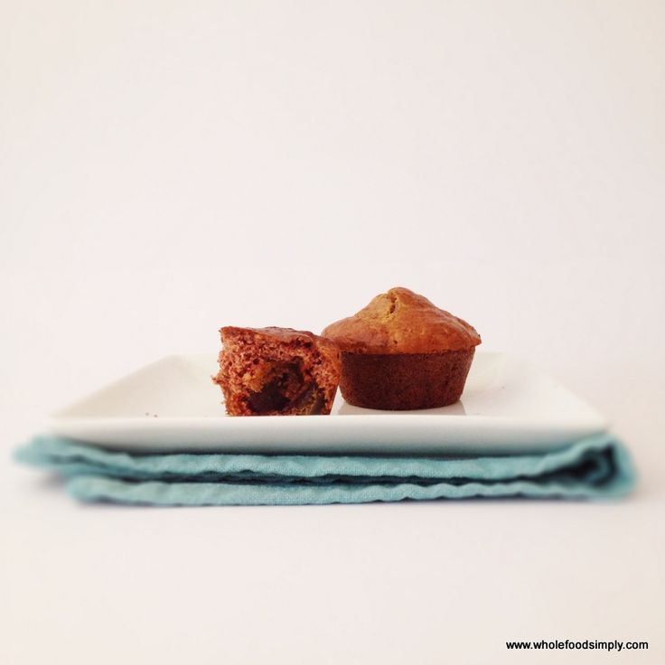 Date and Orange Muffins - Wholefood Simply