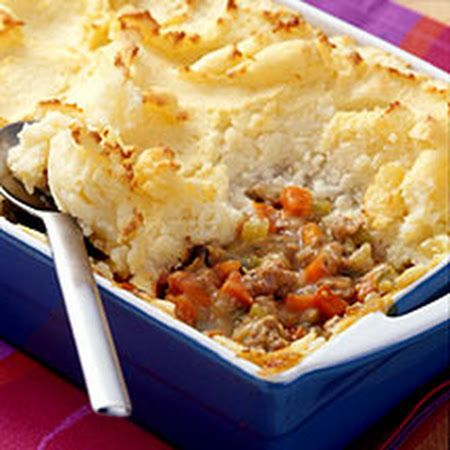 WW Shepherd's Pie. I'm going to make this with ground venison instead of turkey and mashed cauliflower instead of potatoes. We will see.