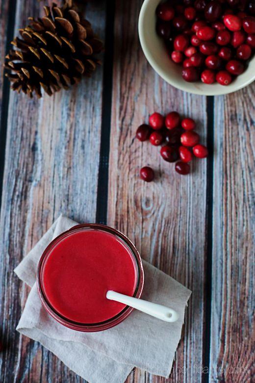 Homemade Cranberry curd