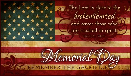 closed for memorial day message