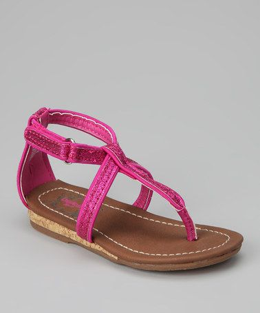 Take a look at this Pink Tabitha Sandal by OshKosh B'gosh on #zulily today!