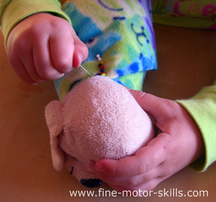 PushPin Activity for Fine Motor Skills Development
