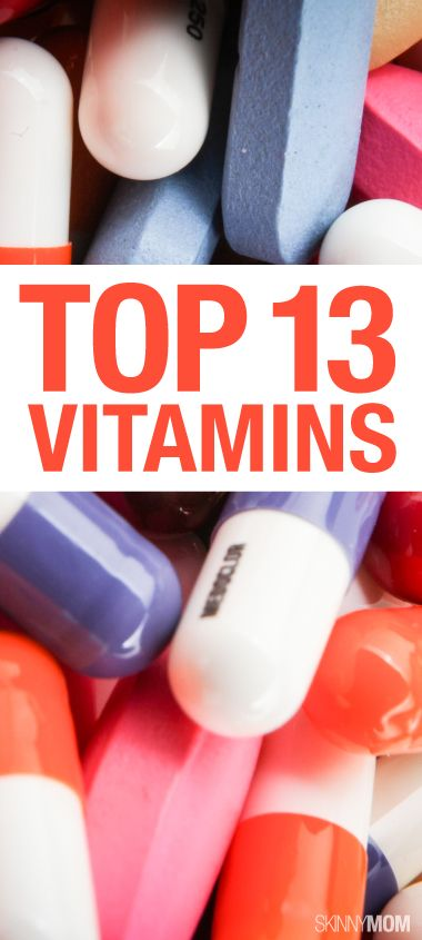 Life can get a crazy, so here are some vitamins that help our bodies when we slack off in the nutrition department.
