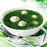 Waterkerssoep met kip-limoen-balletjes recept - Soep - Eten Gerechten - Recepten Vandaag