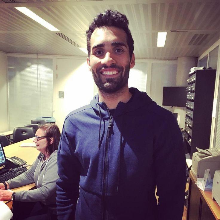 """481 mentions J'aime, 2 commentaires - FranceTV Sport (@francetvsport) sur Instagram: """"@martinfourcade est dans les locaux de France Télévisions pour l'émission Tout le Sport. Rdv à…"""""""