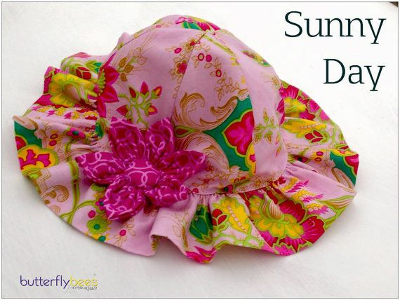 Custom order  Sunny Day Hat by Butterflybees on Etsy
