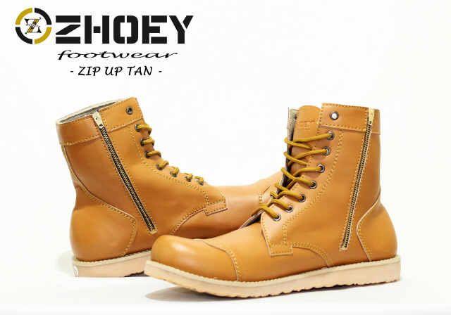 Sepatu Zhoey Zip Up