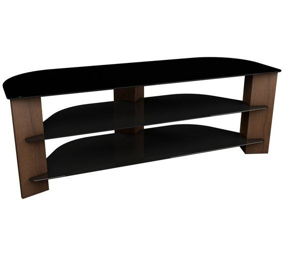 Buy AVF Up To 65 Inch TV Stand - Walnut and Black at Argos.co.uk - Your Online Shop for TV stands, TV stands and wall brackets, Televisions and accessories, Technology.