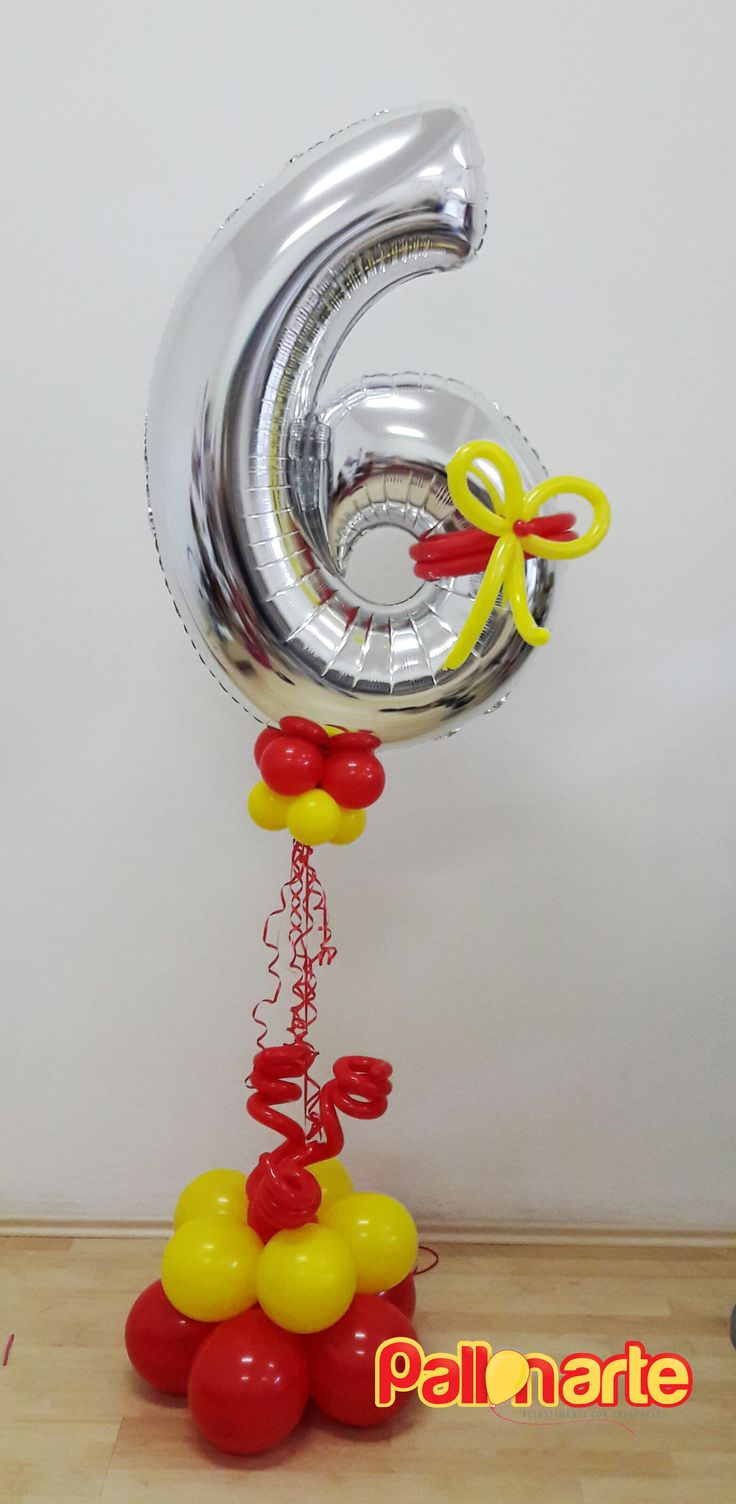 mylar balloon number birthday original palloncini grosseto globos numero compleanno