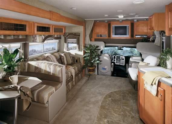 motorhome interiors our new home on wheels pinterest
