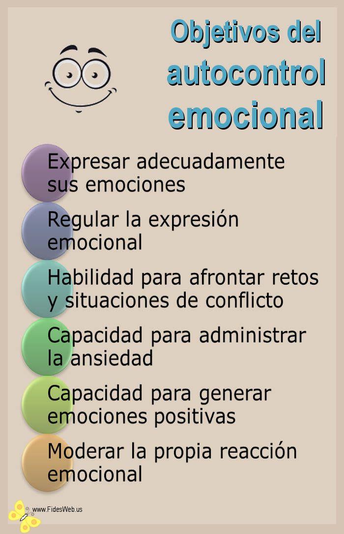 AUTOCONTROL EMOCIONAL | Inteligenci emocional, Psicologa