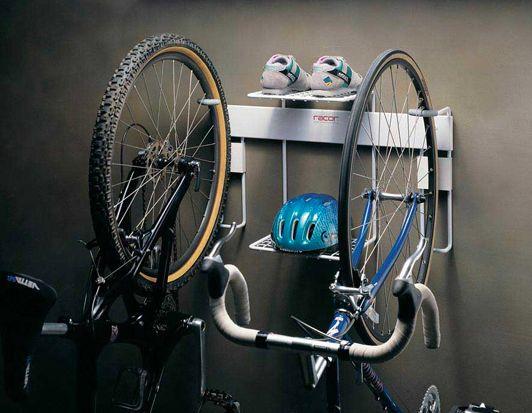 Racor Double Vertical Bike Rack Storage The Garage