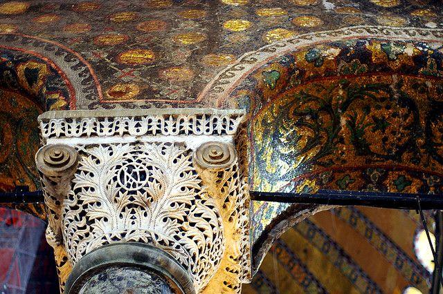 Hagia Sophia: Byzantine Mosaic detail by SusanAstray, via Flickr