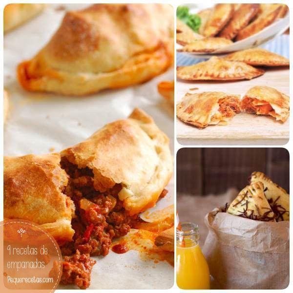 Recetas de empanadas fáciles de hacer. Aprende a hacer empanadas de carne, pollo, jamón y queso y descubre muchas otras recetas de empanadas.