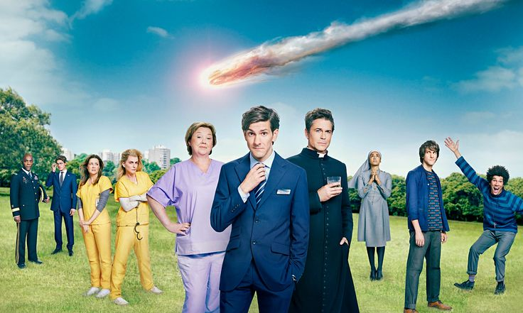 You, Me and the Apocalypse - Pauline Quirke, Jenna Fischer, Rob Lowe, Megan Mullally and Diana Rigg