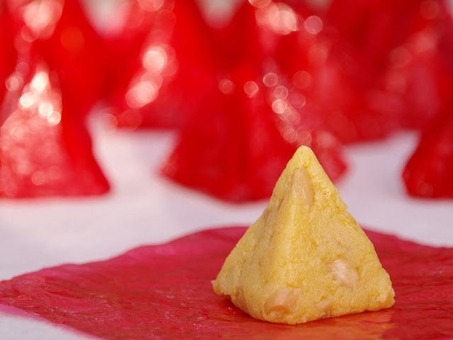 Yema Recipe - Yema With Toasted Peanuts | Filipino Foods And Recipes - Pinoy foods at its finest.
