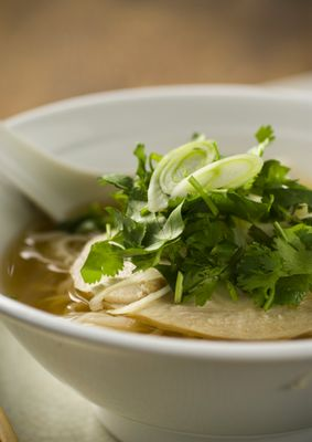 Soothing, spicy, warm & wonderful: Vietnamese Phở recipe from Chef Helene An @crustaceanbh. Move aside, garlic noodles!