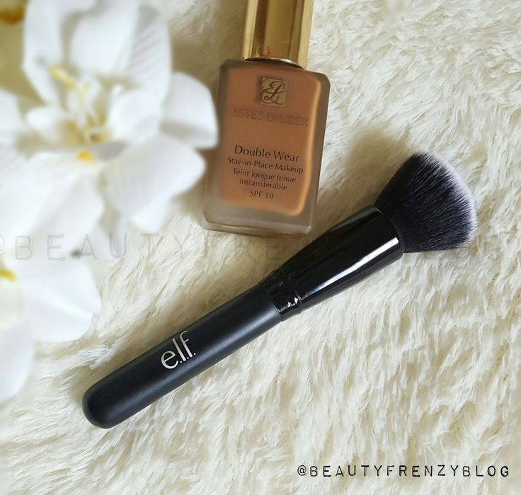 Best Affordable Drugstore Foundation Buffing Brush. Click to find out why this $6 Elf brush is better than my high end brushes. #bestfoundationbrush  #bestbuffingbrush  #bestblendingbrush #bestpowderbrush #ultimateblendingbrush #elfultimateblendingbrush #bestdrugstorefoundationbrush