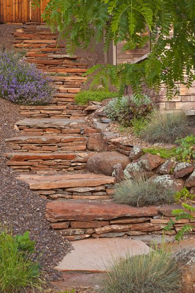 Landscaping Flagstaff Hill : Best images about hillsides on gardens garden steps and backyards