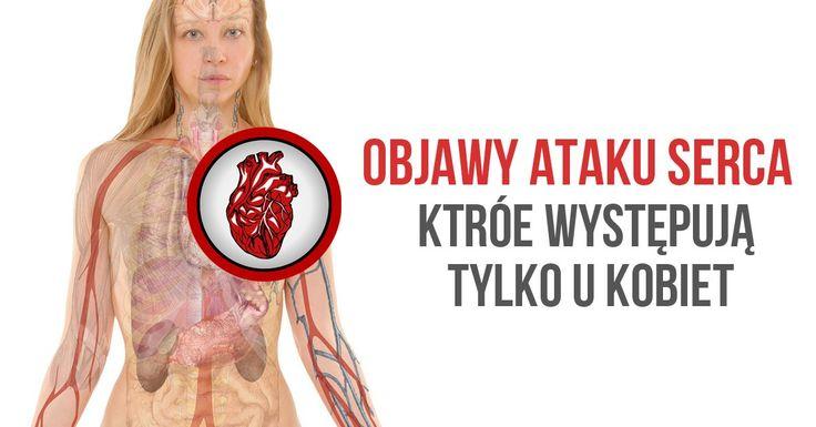 6 objawów ataku serca, które występują tylko u kobiet