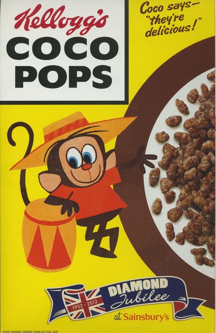 "Coco Pops "" retro "" © 2012 Sainsbury's / Kelloggs ( Thanks Mark )"