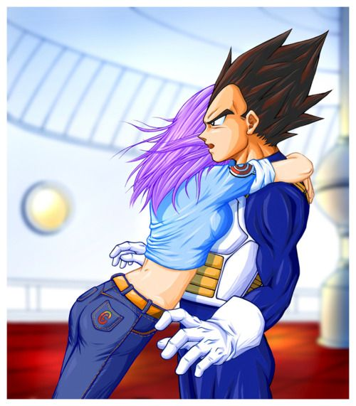 468 best images about dragon ball z couples on pinterest son goku android 18 and vegeta and - Goku e bulma a letto ...