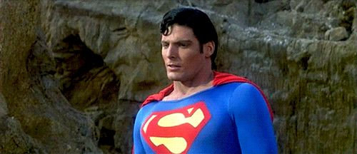 Christopher Reeve Superman GIF