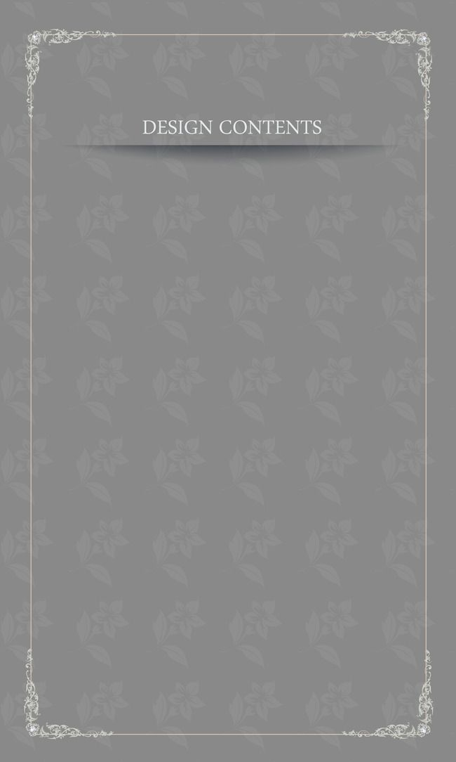 Continental Simple Golden Lines Border Invitation Card