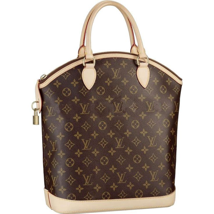 Louis Vuitton M40103 Lockit Vertical Brown