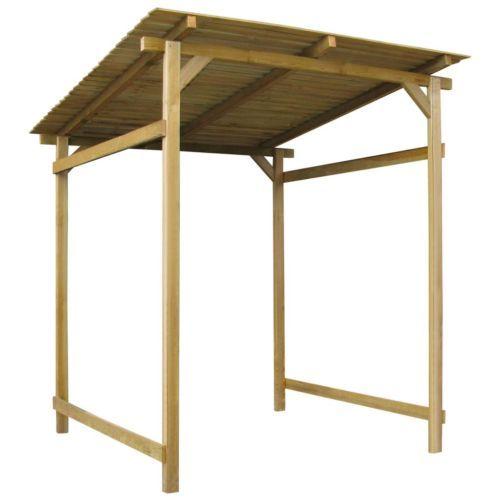 Holz Gartenhaus Geräteschuppen Kiefernholz Vordach Pultdach groß 180x200x200 cm#sparen25.com , sparen25.de , sparen25.info