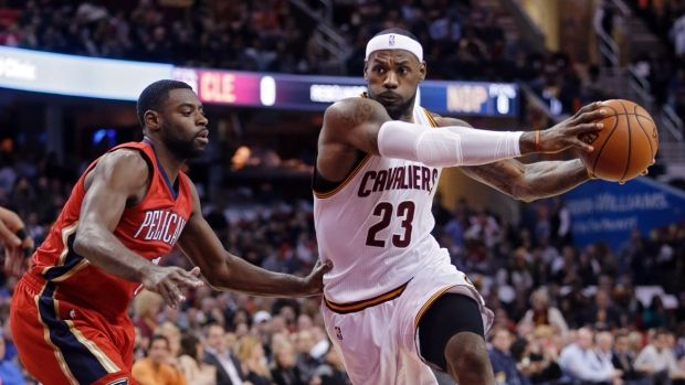NBA scores: LeBron James racks up a triple-double in Cavs win over the Pelicans - CTV NEWS #LeBron, #Cavaliers, #Pelicans