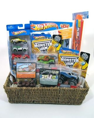 21 best childrens basket ideas images on pinterest kids gift possible easter basket for nathan negle Choice Image