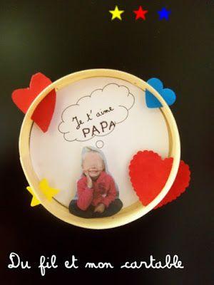 Du fil et mon cartable : Fête des Papas