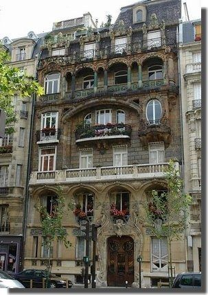 30 best art nouveau walk in paris images on pinterest for Avenue jules dujardin 5
