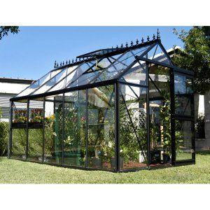 4,227.00 Janssens Junior Victorian 7.75 x 12.5-Foot Greenhouse Kit - Greenhouses at Hayneedle
