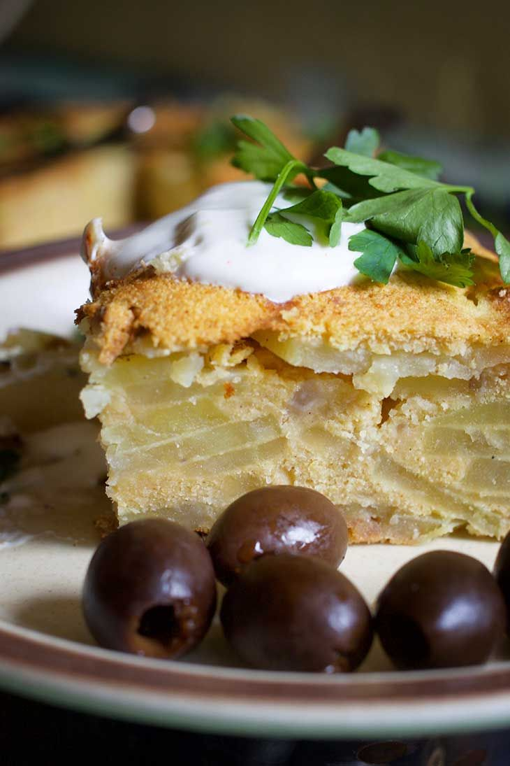 Vegan Potato Tortilla