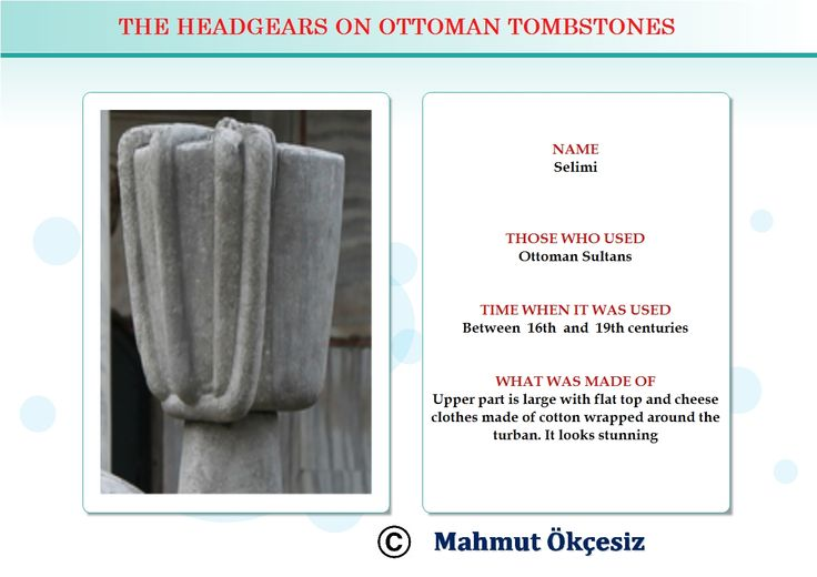 Only Ottoman Sultans used to wear this head gear