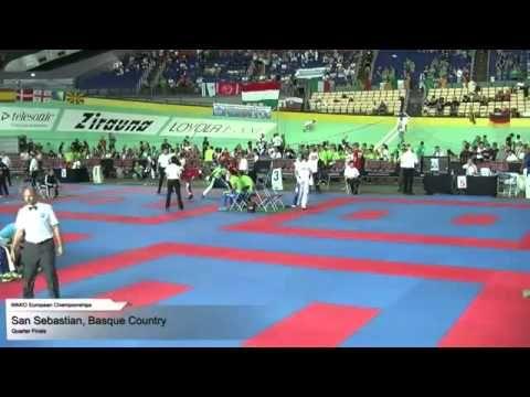 WAKO European Junior Championships 2015 Day 2