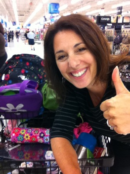 Getting smart with back to school shopping #YMCBackToSchool  lookin good Erica !