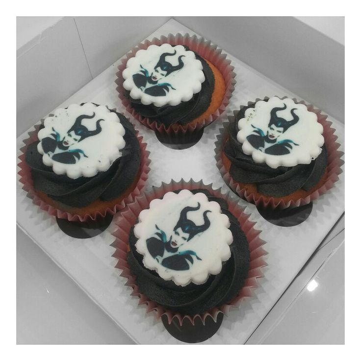 Check out our Malificent cupcakes!