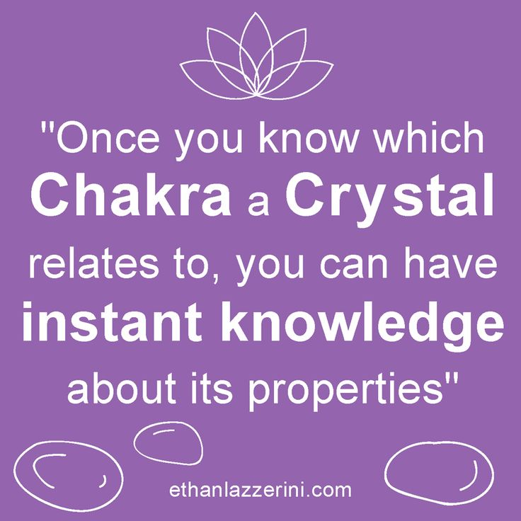 The properties and meaning of Chakra Crystals and Chakra Stones for Crystal Healing #crystals #yoga