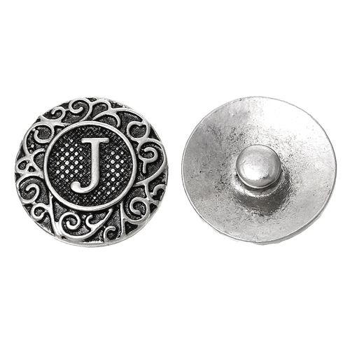 Soleebee Alloy Flower Carving Snap Button Cuff Bracelet Women's Fashion Bracelet (Silver) ur94P2