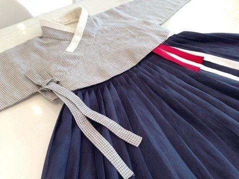 contemporary hanbok(korean traditional dress)