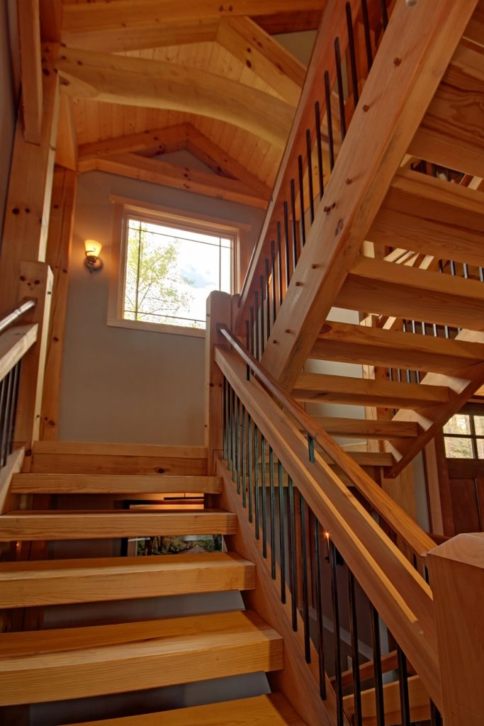 Best 42 Best Up Or Down Timber Stairs Railings Images On 400 x 300