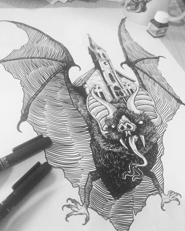 Design i've done for HNS Studio Marchandise! COMING SOON #art #artofvisuals #artofinstagram #artist #artwork #artoftheday #illustrator #illustration #lineart #tattoo #ink #penahitam_arts #iblackwork #artcollective #hnsstudio